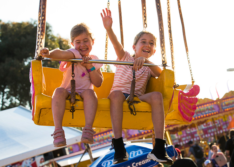 Spring Farm Fair - Kids Rides